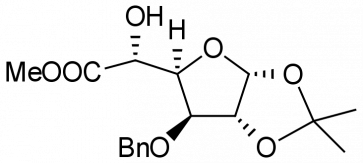 Methyl 3-O-benzyl-1,2-O-isopropylidene-α-L-idofuranuronate